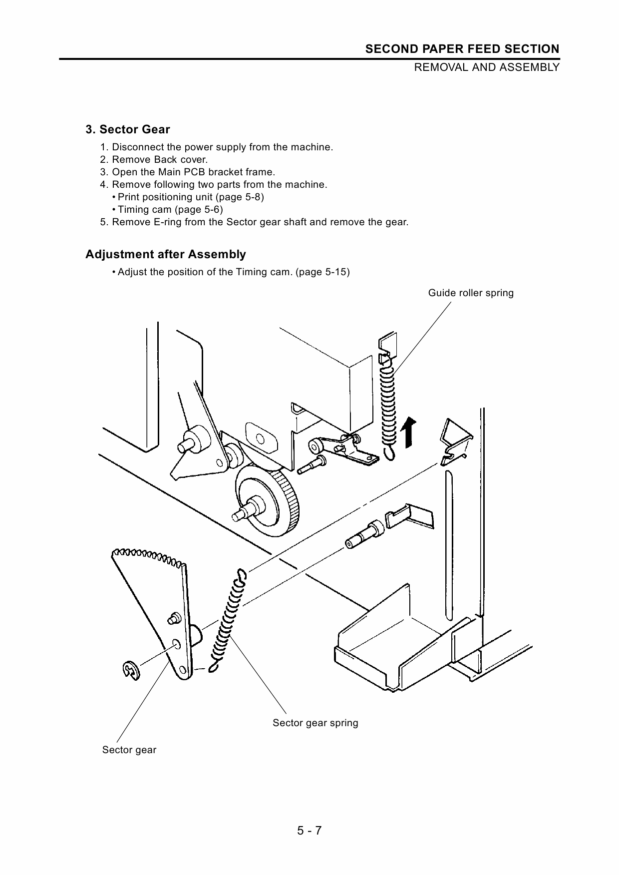 RISO TR 1510 1530 TECHNICAL Service Manual-2